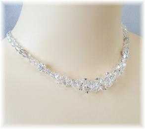 Special Day Clear Crystal Necklace