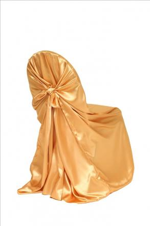 Satin Self-tie Universal Chair Covers