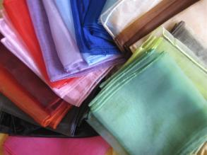 22 Color Organza Sash Sample Pack