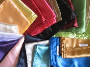 25 Color Satin Sash Sample Pack