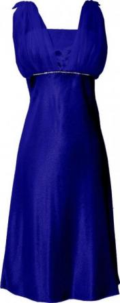 Moonlit Bridals - New Royal Blue  Chiffon Prom Dress Holiday Formal Gown Bridesmaid