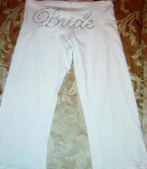 Bride Fleece Sweats - Script- New