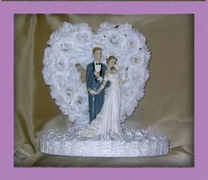 Reflections Cake Topper