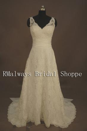 New Custom Made Wedding Gown