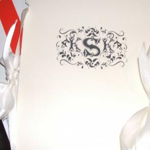 150 Custom Wedding Programs- Book Style With 4 Interior Pages