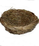 Grass and Twig Nest Brown, 6 Inch