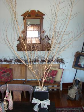 Gold Tree Centerpiece