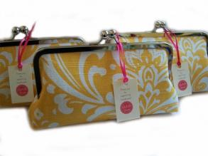 Set Of 5 Bridesmaid Clutches-new Choose Your Prints
