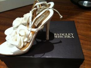 Gorgeous *badgley Mischka* Bridal Shoes - Size 8.5
