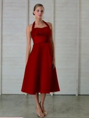 Red Bill Levkoff Dress (sz.8)