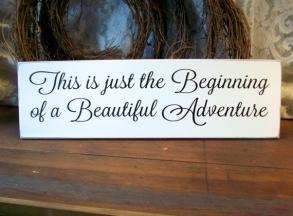 Wedding Decor Sign A Beautiful Adventure