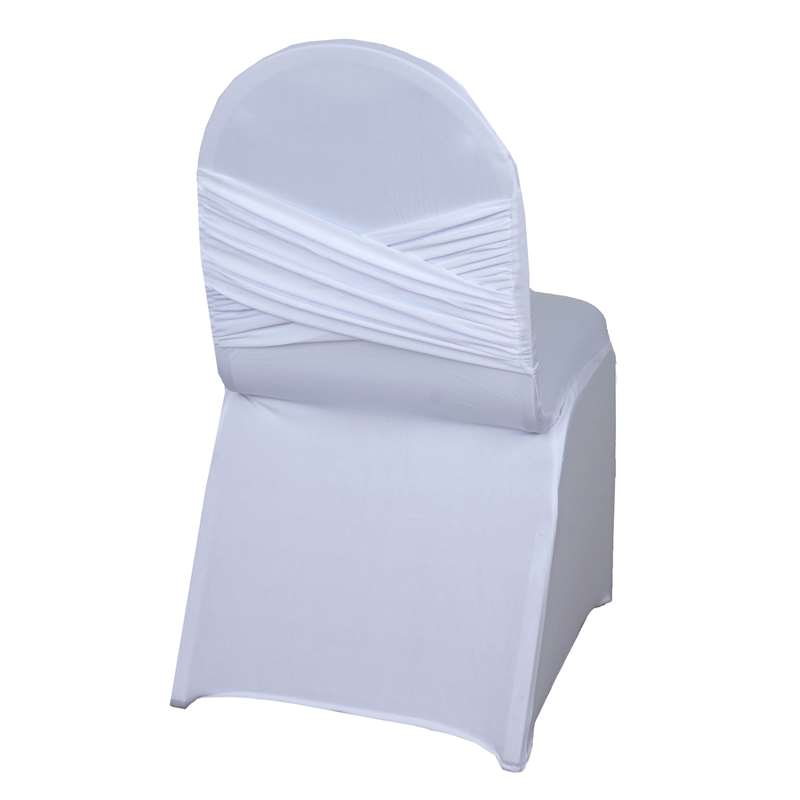 White Spandex Chair Covers