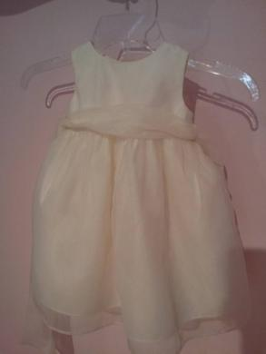 Us Angels Classic Satin & Organza Flower Girl Dress - Style 409
