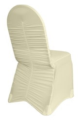 Spandex Milan Ruched Chair Covers