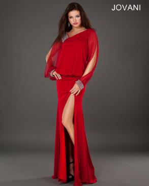 Stunning Jovani Red Evening Dress