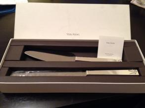 Vera Wang By Wedgwood Love Knots Cake & Trowel Set