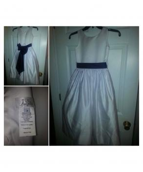Us Angels Flower Girls Dress Size 7