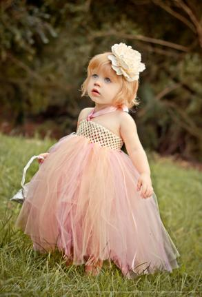 Flower girl dress - Flower Girl Dress, Ivory Flower Girl Tutu Dress, Tutu Dress
