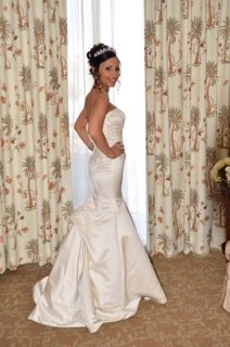Ella - Silk Diamond White Bella Di Sera Wedding Gown