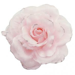 Pretty Flower Brooch In Pink Enhance Your Dress W/ Beautiful Brooch