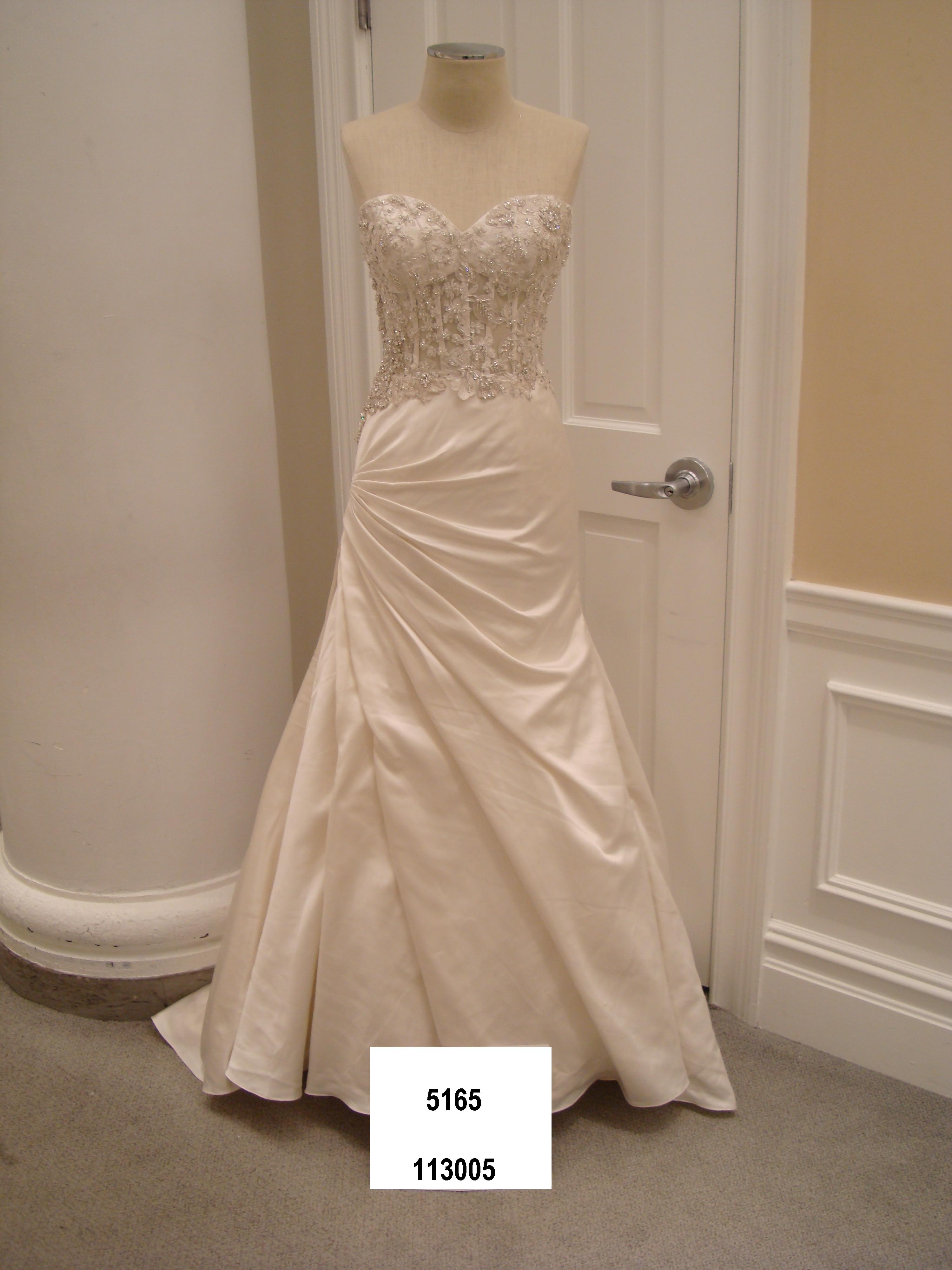 Danielle Caprese Style # 113005 | Size: 12 | Bridal Gown | BravoBride