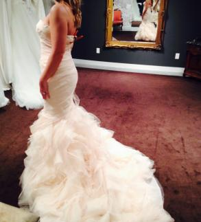 53021c475eab Vera Wang Blush Gemma- Never Worn!!   Size: 8   Bridal Gown   BravoBride