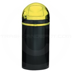 Witt Industries 15dt-11 Monarch Series Dome Top Trash Can With Push Door