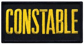 Constable Chest Patch