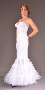 Under Cover Bridal Slip Single Flounce