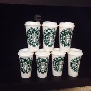 Handcrafted Starbuck Cups For All Occasions