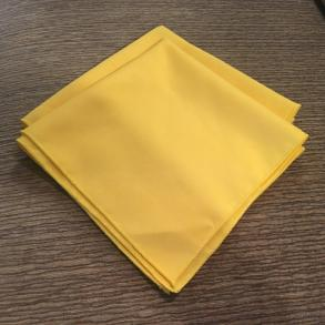 120 Yellow Cloth Napkins