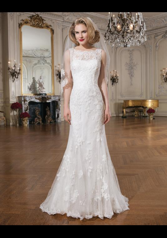 Justin Alexander Dress | Size: 6 | Bridal Gown | BravoBride