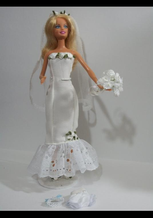 Barbie Contemporary Wedding Gowns