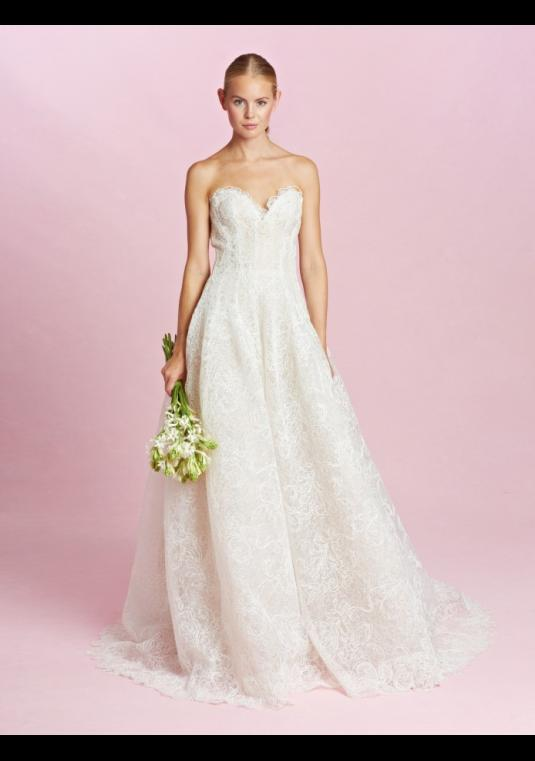 Oscar De La A Dee Wedding Gown