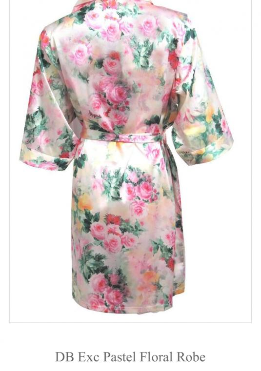Floral Bridal Party Robes (set Of 10)