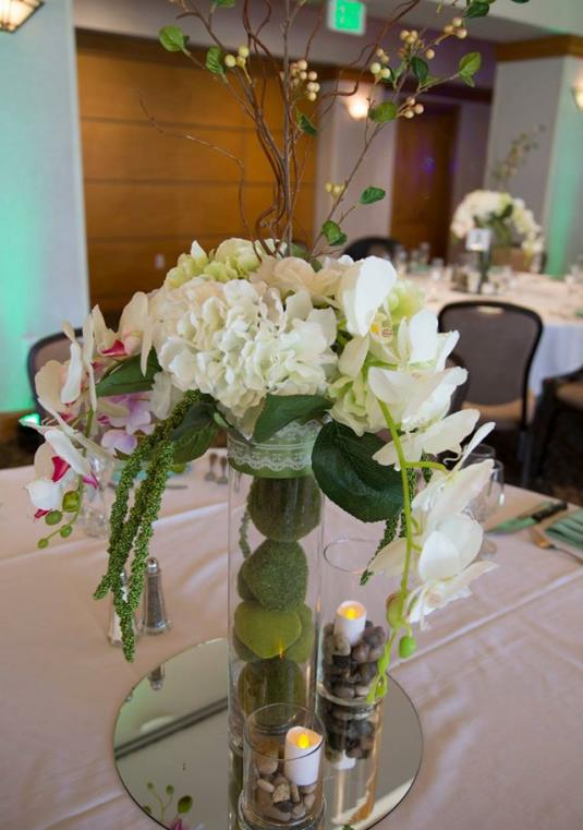 Centerpieces, Archway, Vases And More!