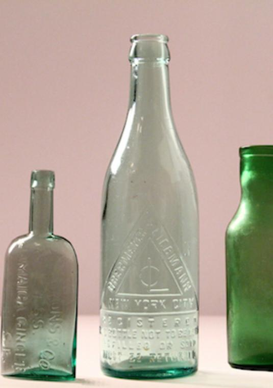 Collection Of 140 Vintage And New Bottles Perfect For A Chic & Rustic Wedding