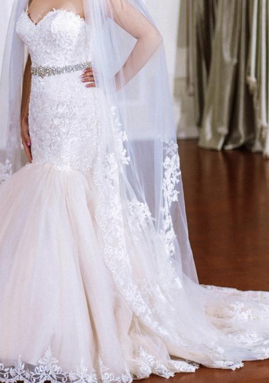 Maggie Sottero Lansing Wedding Dress   Size: 10   Bridal Gown ...