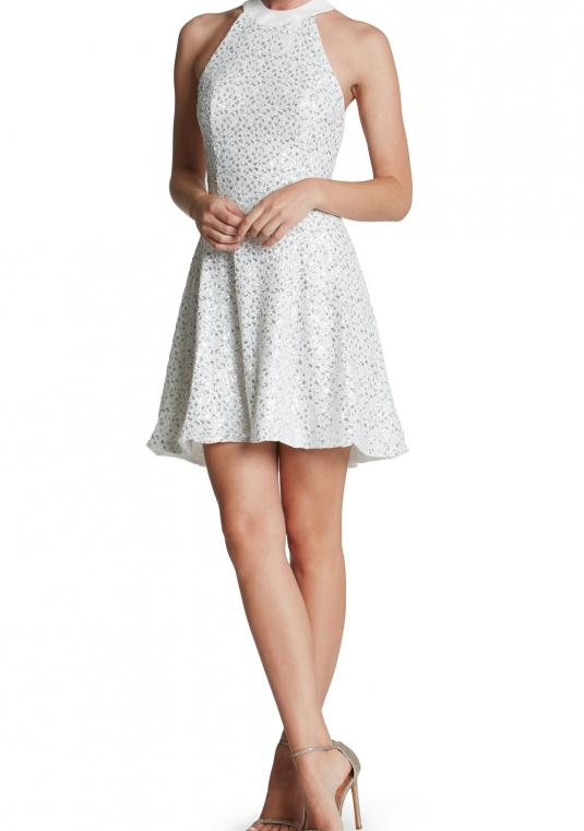 Dress the Population - Dress The Population Anni Sequin Mini Dress Small