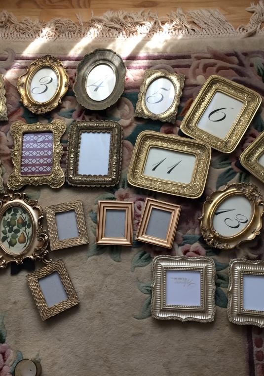 Gold Baroque Style/antique Frames