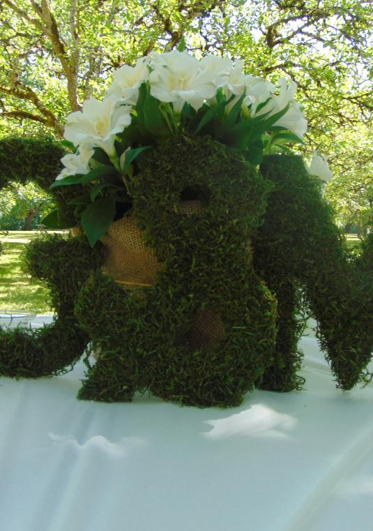 FREE SHIPPING 3 Moss Letters 10  Inches Tall Moss Monogram Wreath Moss Home Decor Engagement Party Bridesmaid Gift Bride And Groom Chair