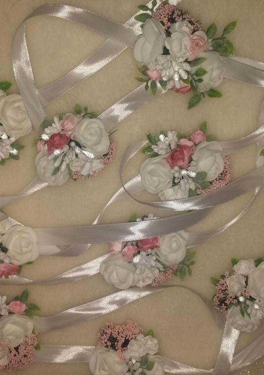 Wedding Corsage And Boutonniere