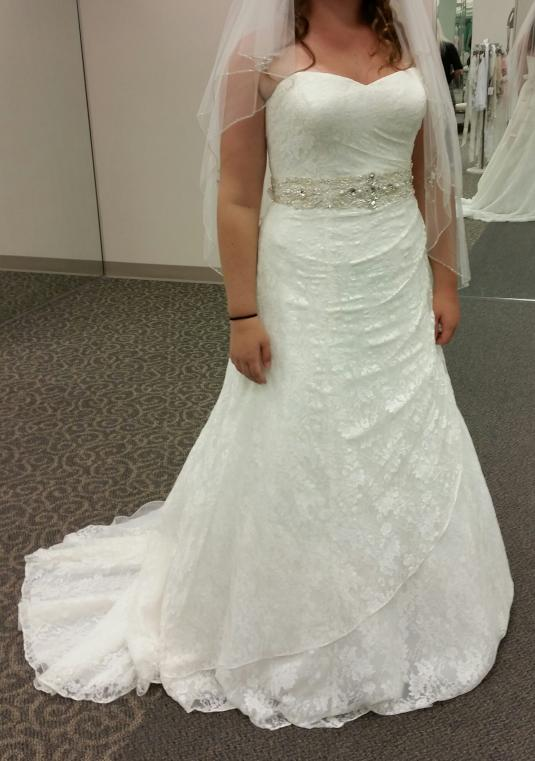 David Bridal Wedding Dresses Size 14