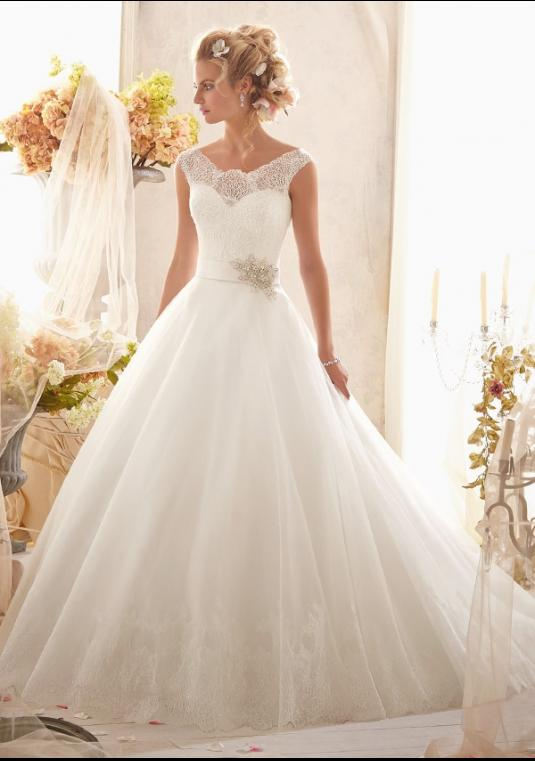 Mori Lee Wedding Gown 2607