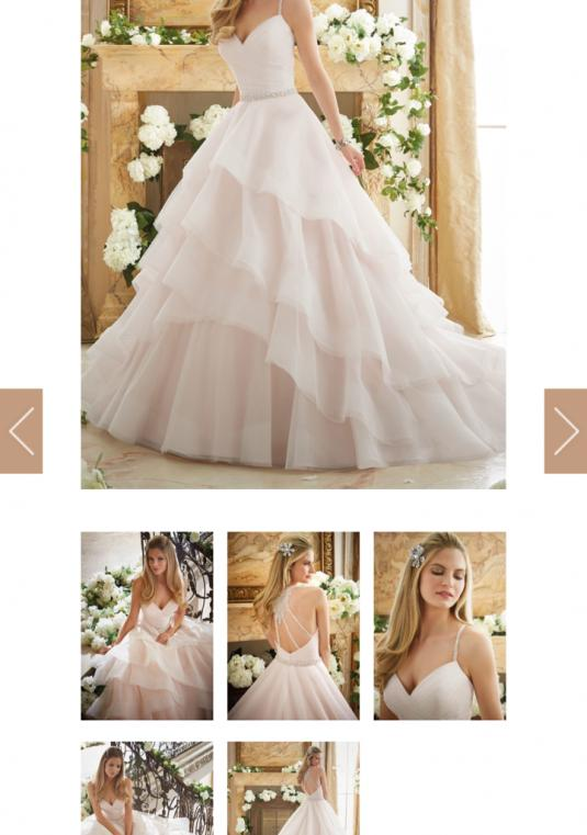 Mori Lee - Size 10 Morilee  Ball Gown