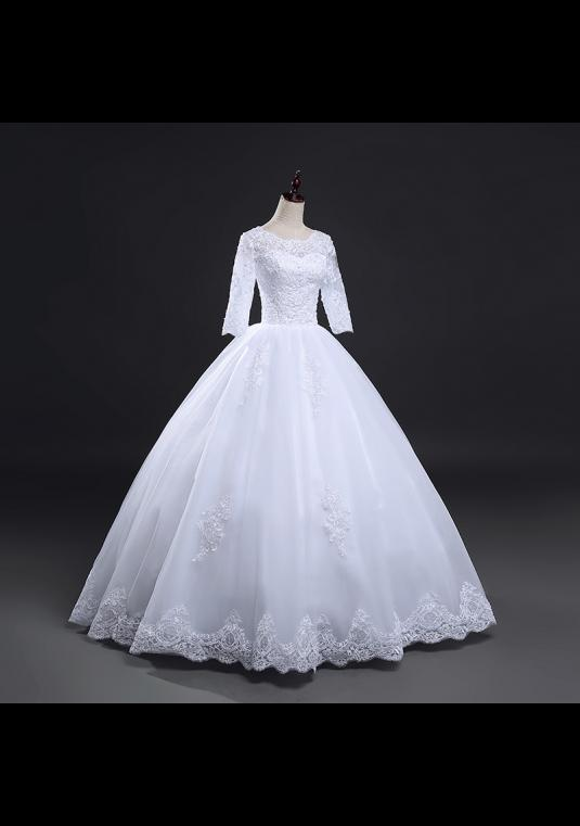 Private Label Unworn Ball Gown Floor Length Wedding Dress