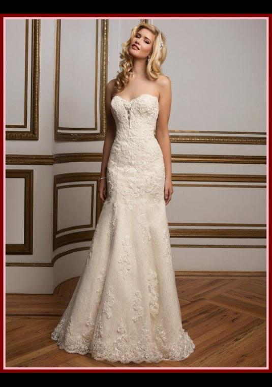 Justin Alexander - Bridal Gown, Fit And Flare
