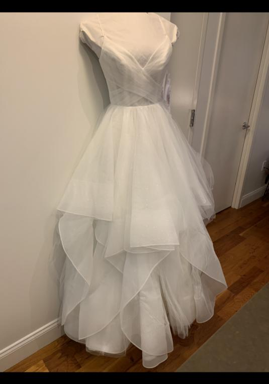 c28110bdb6 Hayley Paige Style 6709 Chandon Ivory New Unused Unaltered | Size: 4 ...
