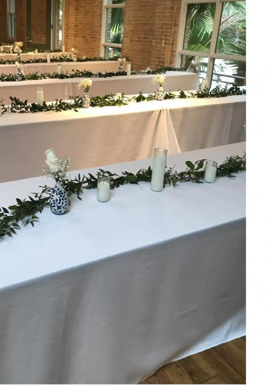 White Rectangular Tablecloths