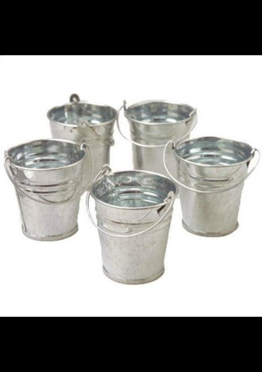 U.s. Toy Mini Metal Buckets - 96 (8 Packs Of 12)